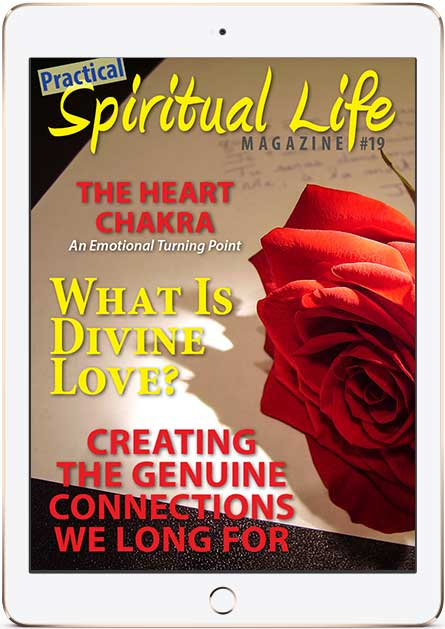Spiritual Life Magazine on Human and Divine Love Cover in iPad